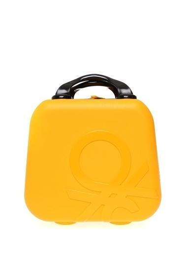 Benetton Makyaj Çantası Sarı